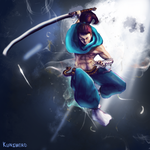 Definitively not a Yasuo's fanart by Kunsword
