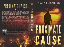 Thriller Print Cover: Proximate Cause by Dafeenah