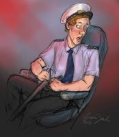 Cabin Pressure: Mayday Captain Crieff by coloristjen