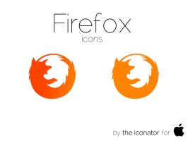 Firefox icons by theiconator