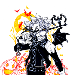 Halloween Town Sora by owopyre