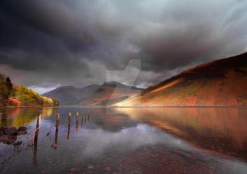 Low Light on Wast Water by DL-Photography