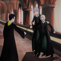 Yuri On ice in HP universe by EruYuen