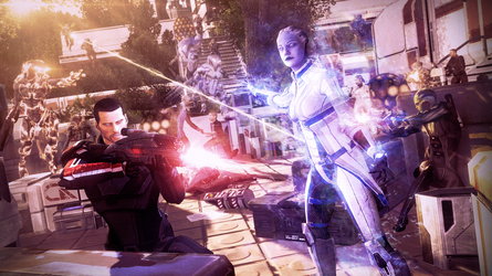 Protecting the Colony | Mass Effect by Urbanator