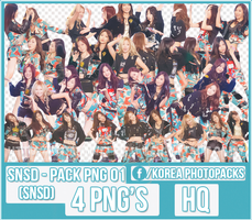 SNSD (Girls Generation) - PACK PNG#01 by JeffvinyTwilight