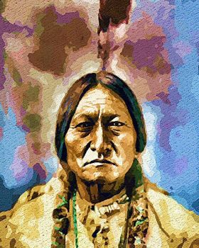 Sitting Bull by peterpicture