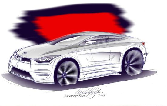 BMW X6 coupe by alexandredesign