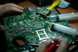 Laptop Mainboard by Mottcalem