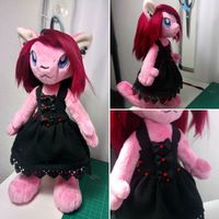 WIP Wednesday- Little Black Dress by FeatherStitched
