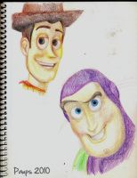 Toy Story sketch by Paups