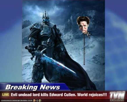 Lich King makes news by EvilWarChief666