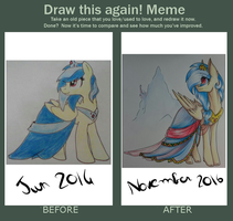 Gala Dress  -DRAW THIS AGAIN- by PonetteDeFeu