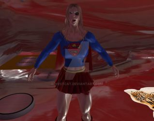 Second Life Super Girl CatFighter Avatar by westcat