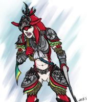 Armored Sidon by ZICANEBORGEN