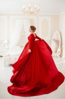 Lady in red by Black-Bl00d