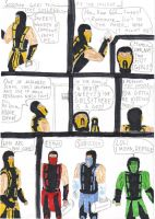 Mortal Kombat Comic 2 by SeSerkku