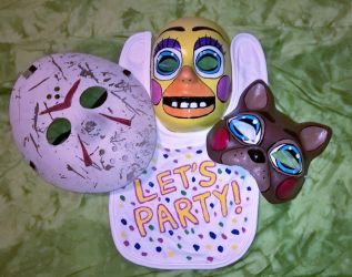 Halloween Masks 2017 by AmandaFerguson070707