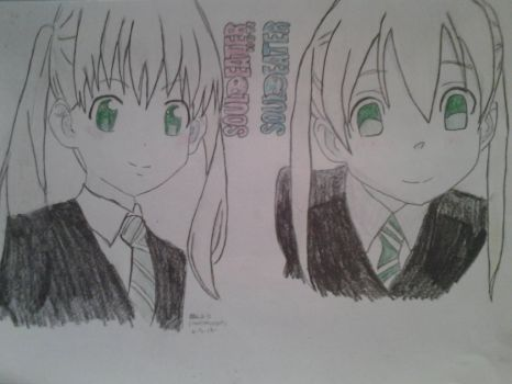 Maka in Not vs Original by ilovescaryklowns