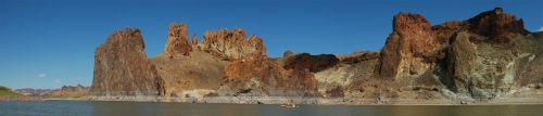 Lake Owyhee Kayaking 2 by eRality