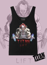 Pennywise Titan Lift Tank Top by SHWZ
