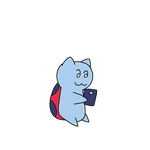 Catbug using Smartphone by MarcosPower1996