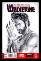 Wolverine sketchcover by whu-wei
