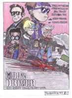 Moon Driver- The Loud House meets Baby Driver by PenciltipWorkshop