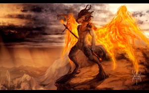 CM: Fire in the Sky by MutantParasiteX
