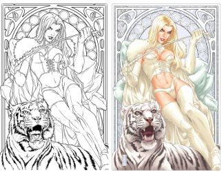 Emma Frost- The White Queen by diablo2003