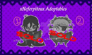 Vampire Adopt Set 1 (CLOSED) 0/2 by xNeferpitoux