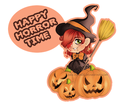 happy horror time ! by Aka-chan00