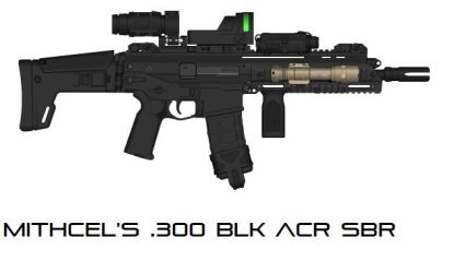 Mitchel's .300 BLK ACR SBR-One Take by Tyro619