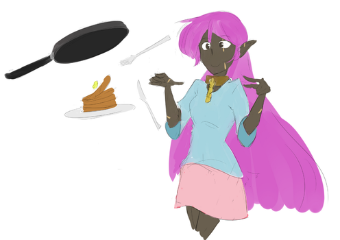 Elfy - Magical Cooking by TheFinnicle