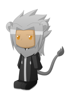 Xemnas-Lion by Naedix