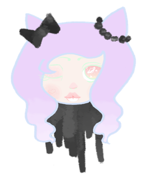 purrstel goth by mellowmouse