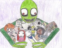 Salad Fingers Tribute by Eoxnix