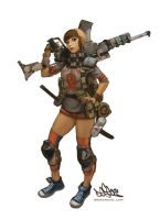 zombie_slayer 2 by DESEO-ONE