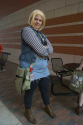Dragon Ball Z: Android 18 by dreamin-star