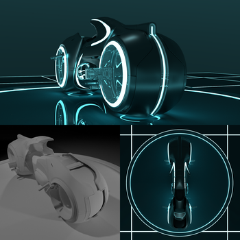 Tron LightCycle by niC00L