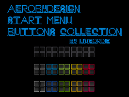 AeroByDesign Start Menu Buttons Collection by LiveOrDieTM
