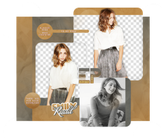 PACK PNG 434 // EMILY RUDD by ELISION-PNGS