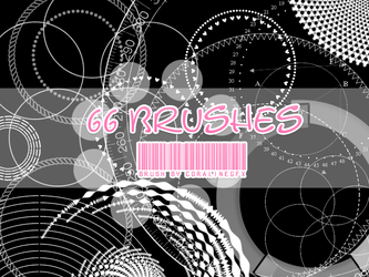 66 Circle Brushes by GhostxMadnessGirl