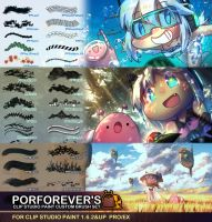 Porforever's Custom Brush - All Sets Pack by Porforever