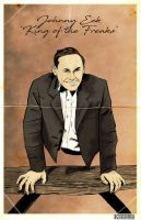 Johnny Eck by Kyohazard