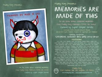 Memories Are Made Of This - Postcard by lukechueh