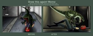 Draw This Again - Dino Crisis by CPT-Elizaye