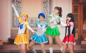 Protectors of the Planets by LoveSenshi