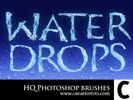 HQ Water Drop PS Brushes - C by Grasycho