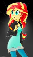 Sunset Shimmer by Xan-gelX