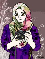 DSLR muslimah girl by budoxesquire